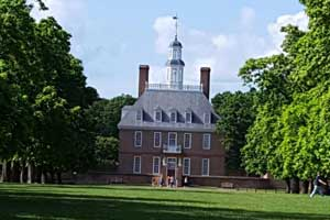 governor's palace in williamsburg